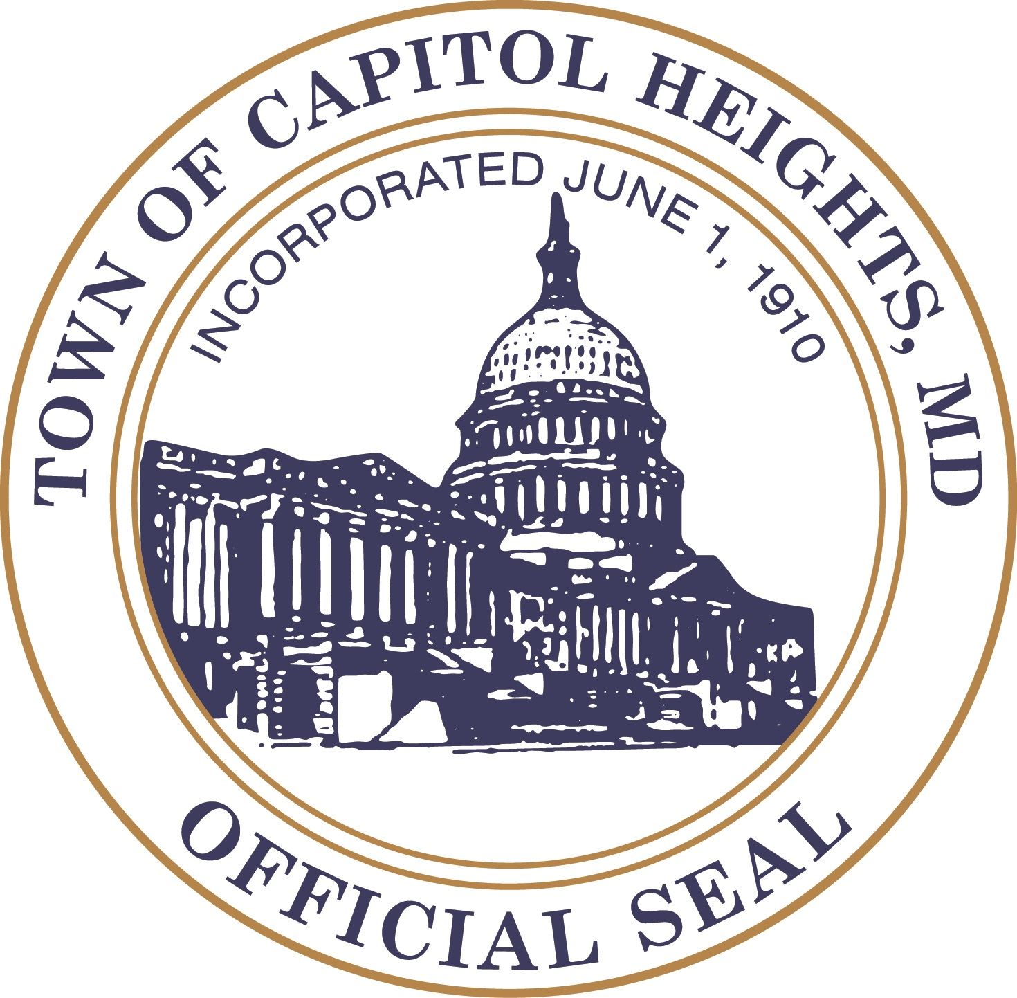Capital Heights town seal Opens in new window